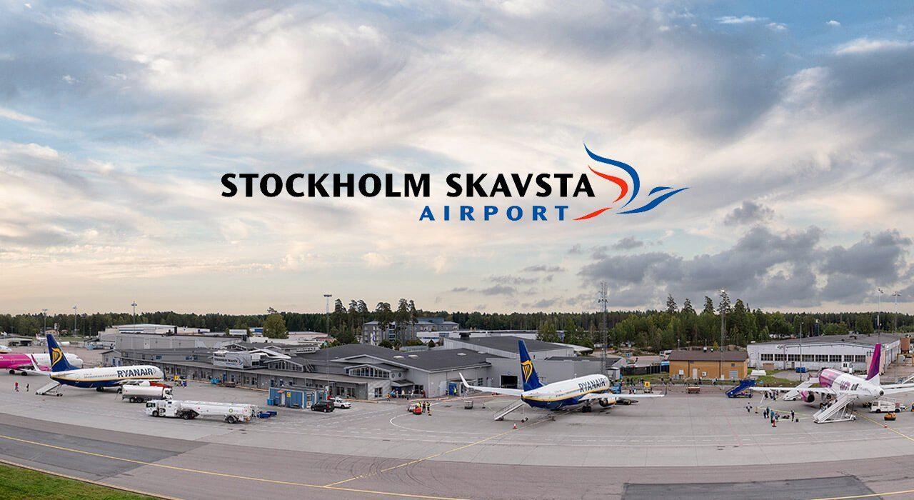 Karta Over Arlanda Flygplats.Stockholm Skavsta Flygplats Nykoping