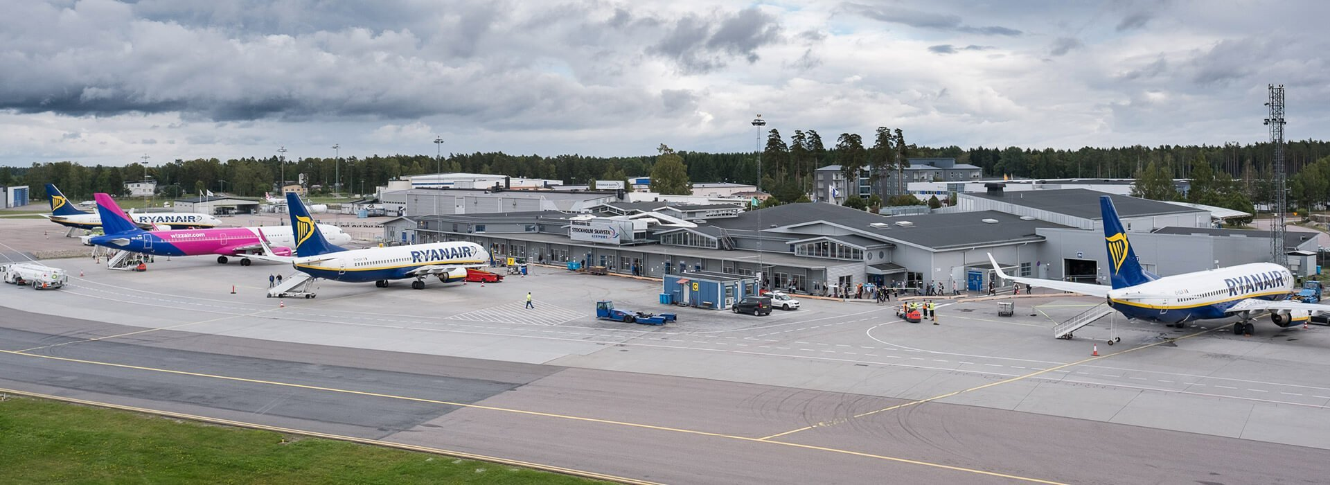 Sveriges största flygplatser - Skavsta flygplats, Stockholm nyköping